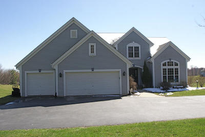 Elkhorn Single Family Home Active Contingent With Offer: W5037 Middle Lake Dr