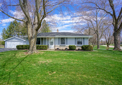 Single Family Home For Sale: N66w24124 Champeny Rd