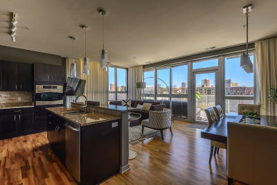 Milwaukee Condo/Townhouse Active Contingent With Offer: 1902 N Commerce St #604