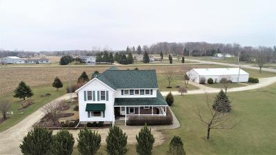 Campbellsport Single Family Home For Sale: W1019 County Road B