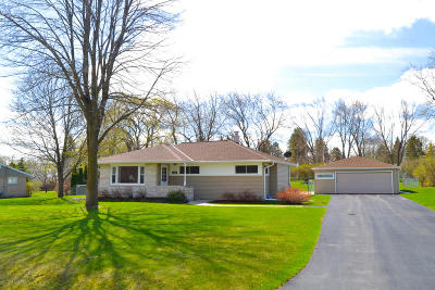 Menomonee Falls Single Family Home Active Contingent With Offer: N61w15213 How Ave