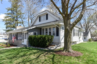 Single Family Home Active Contingent With Offer: 4766 N 127th St