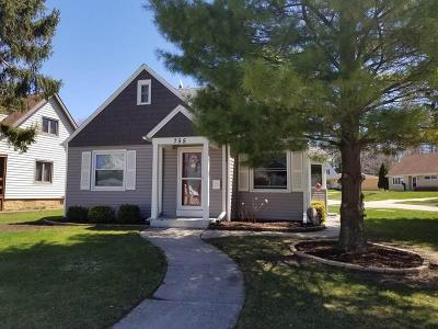Sheboygan Falls Single Family Home Active Contingent With Offer: 755 Pine St