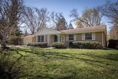 Greendale Single Family Home For Sale: 5781 Finch Ln