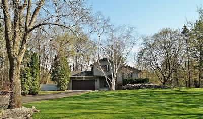 Waukesha Single Family Home Active Contingent With Offer: S73w26385 Mount Rainier Dr