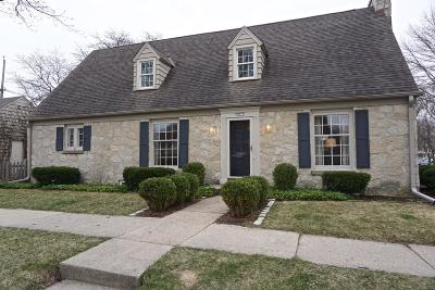 Whitefish Bay Single Family Home Active Contingent With Offer: 501 E Chateau Pl