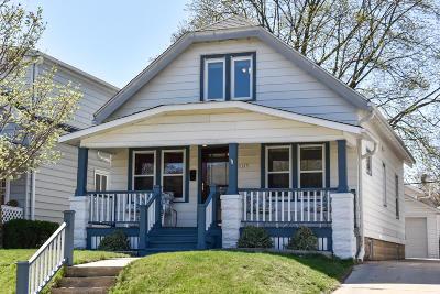 Single Family Home Active Contingent With Offer: 1407 N 68th St