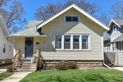Single Family Home Active Contingent With Offer: 2247 N 67th St