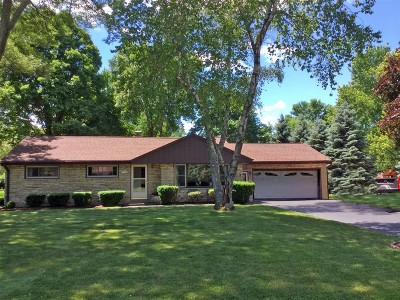 Menomonee Falls Single Family Home For Sale: N81w15265 Hilltop Dr