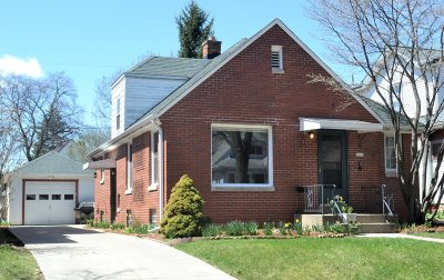 Single Family Home Active Contingent With Offer: 2631 N 71st St