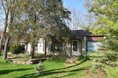 Menomonee Falls Single Family Home Active Contingent With Offer: N81w13246 Fond Du Lac Ave