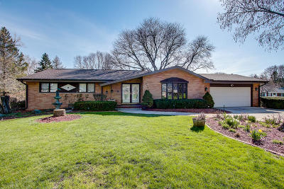 Greendale Single Family Home Active Contingent With Offer: 8268 Flagstone Ct