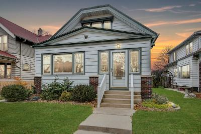Milwaukee Single Family Home Active Contingent With Offer: 3117 S Vermont Ave