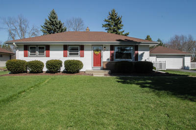 New Berlin Single Family Home Active Contingent With Offer: 3600 S 158th St