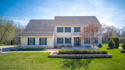Waukesha Single Family Home Active Contingent With Offer: 1621 Legend Hill Ln