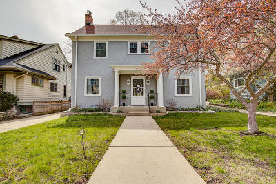 Shorewood Single Family Home Active Contingent With Offer: 4109 N Farwell Ave