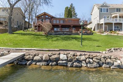 Whitewater Single Family Home For Sale: N7564 W Lakeshore Dr