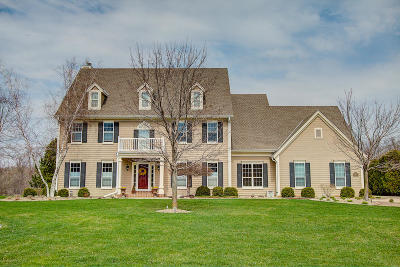 Pewaukee Single Family Home Active Contingent With Offer: N36w22684 Long Valley Rd