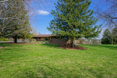 Waukesha County Single Family Home For Sale: 36233 Silver Maple Ln
