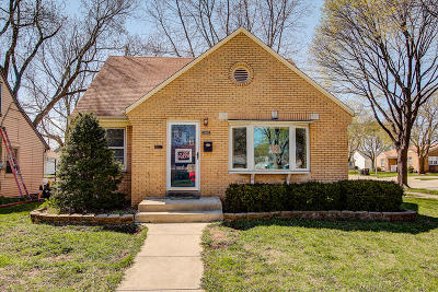 West Allis Single Family Home Active Contingent With Offer: 2403 S 81st St