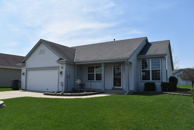 Waukesha Single Family Home Active Contingent With Offer: 3532 River Valley Rd