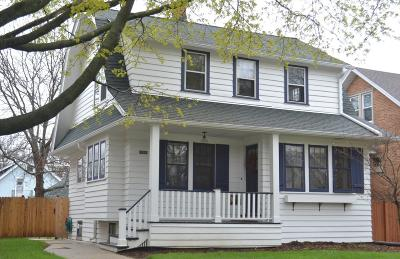 Single Family Home Active Contingent With Offer: 2327 N 63rd St