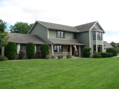Menomonee Falls Single Family Home Active Contingent With Offer: W170n4963 Linden Ln