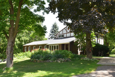 Cedarburg Single Family Home Active Contingent With Offer: 698 N Green Bay Rd