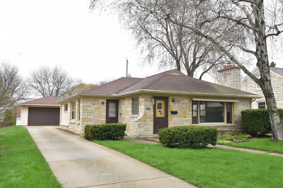Single Family Home Active Contingent With Offer: 2639 N 85th St