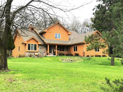 Dousman Single Family Home Active Contingent With Offer: S39w33418 Hidden Valley Dr