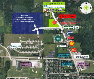 Mukwonago Residential Lots & Land For Sale: 110 Chapman Farm Blvd
