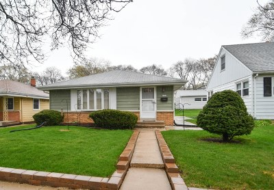 West Allis Single Family Home Active Contingent With Offer: 2942 S 96th St