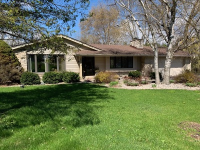 Pewaukee Single Family Home Active Contingent With Offer: W240n4035 Swan Rd