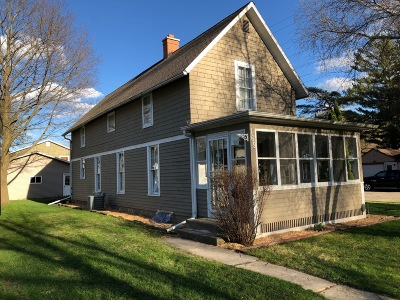 Oconomowoc Single Family Home Active Contingent With Offer: 169 S Maple St