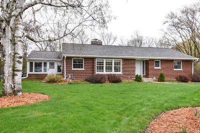 Brookfield Single Family Home Active Contingent With Offer: 1450 N Milrod Ln