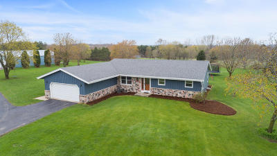 Waukesha Single Family Home Active Contingent With Offer: S64w27656 River Rd