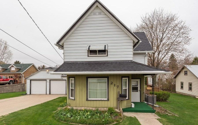 Mayville Single Family Home Active Contingent With Offer: 217 S John St