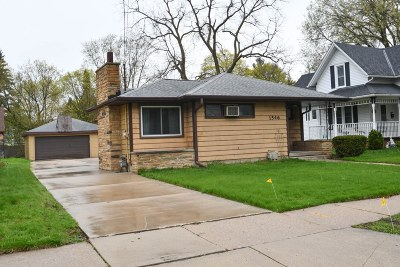 Waukesha Single Family Home Active Contingent With Offer: 1546 Jefferson Ave