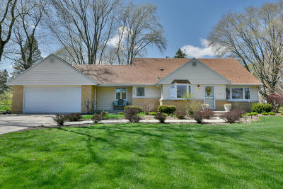 Single Family Home Active Contingent With Offer: 4745 N 158th St