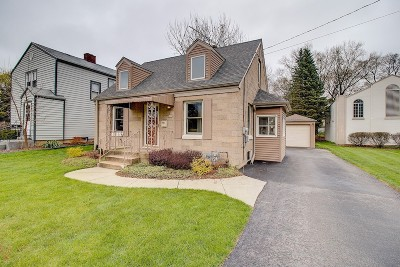 Waukesha Single Family Home Active Contingent With Offer: 405 S Moreland Bl