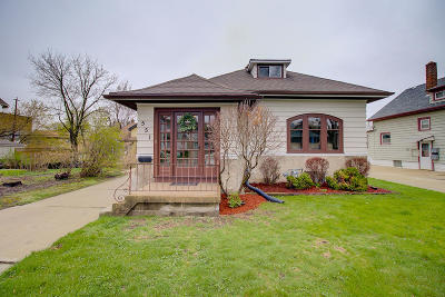 Single Family Home Active Contingent With Offer: 551 N 62nd St