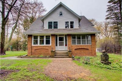 Mequon Single Family Home Active Contingent With Offer: 8830 W Mequon Rd