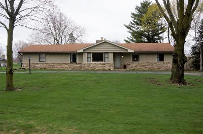 Menomonee Falls Single Family Home Active Contingent With Offer: W199n9308 Wellington Dr