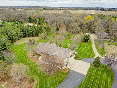 Waukesha County Single Family Home Active Contingent With Offer: W326n9421 Peradell Ct