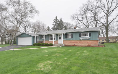 Racine Single Family Home Active Contingent With Offer: 1219 Harrington Dr