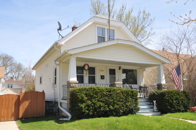 West Allis Single Family Home Active Contingent With Offer: 2214 S 63rd St