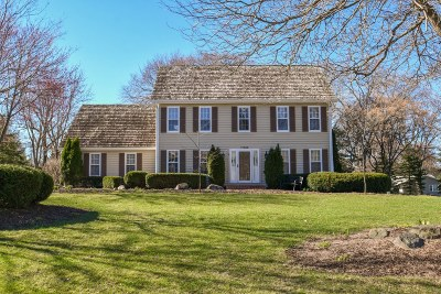 Single Family Home Active Contingent With Offer: 17305 Bard Ln