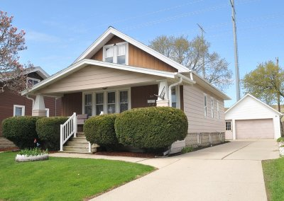 West Allis Single Family Home Active Contingent With Offer: 1213 S 98th St