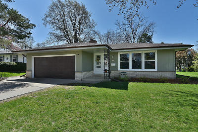Greendale Single Family Home Active Contingent With Offer: 5198 Lilac Ln