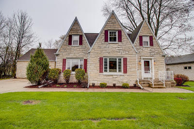 Single Family Home Active Contingent With Offer: 520 S Calhoun Rd